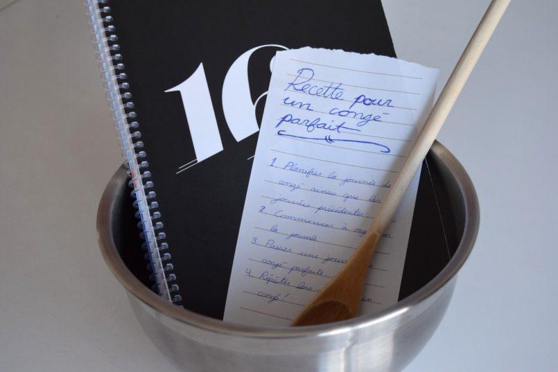 La recette du congé parfait – chronique d'une « organisée » | Les Roger - Le blogue des étudiants de l'UdeM