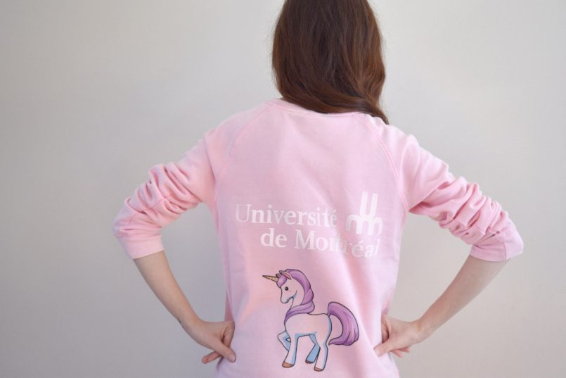 Les Roger testent pour vous : la nouvelle ligne de vêtements « UdeM »! - chandail | Les Roger - Le blogue des étudiants de l'UdeM